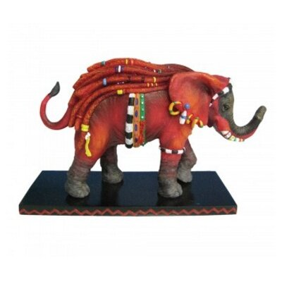 David Elephant Figurine ZD-HGWF8A3J4RED
