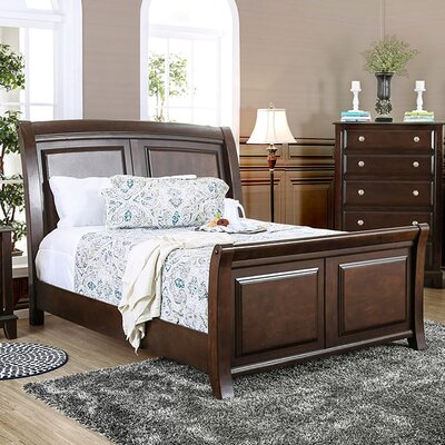Litchville Sleigh Bed Size: California King