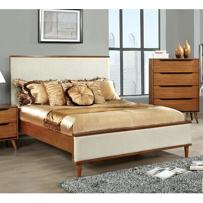 Tarlenn Upholstered Platform Bed Size: King