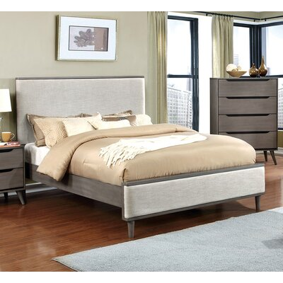Tarlenn Upholstered Platform Bed Size: Queen
