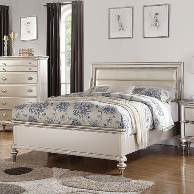 Hawes Upholstered Panel Bed Size: California King