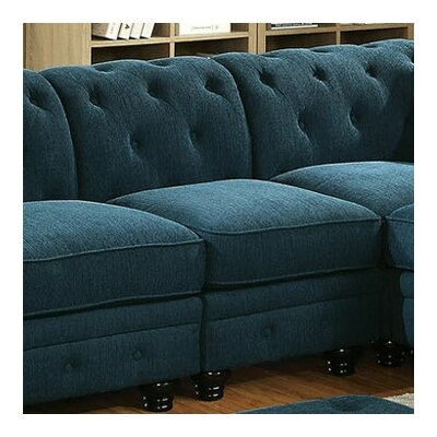 Stanfordo Slipper Chair Upholstery: Dark Teal