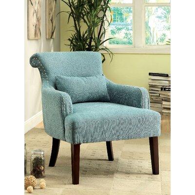 Agalva Armchair Upholstery: Blue