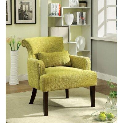 Agalva Armchair Upholstery: Green