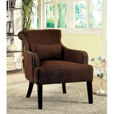 Agalva Armchair Upholstery: Brown