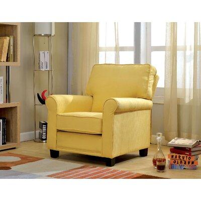 Kamena Armchair Upholstery: Yellow