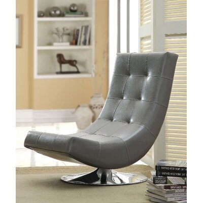 Sowards Swivel Lounge Chair Upholstery: Gray