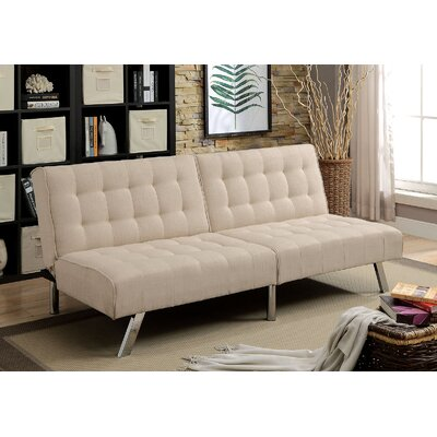 Perucca Convertible Sofa Upholstery: Beige