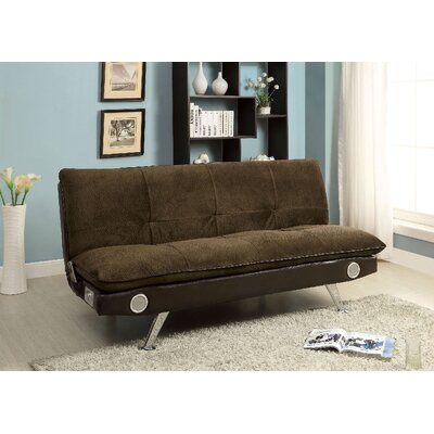 Spain Convertible Sofa Upholstery: Dark Brown