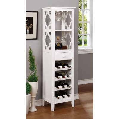 Akaska 12 Bottle Floor Wine Cabinet
