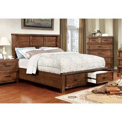 Baddock Storage Platform Bed Size: California King