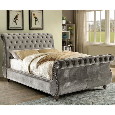 Noella Sleigh Bed Size: California King