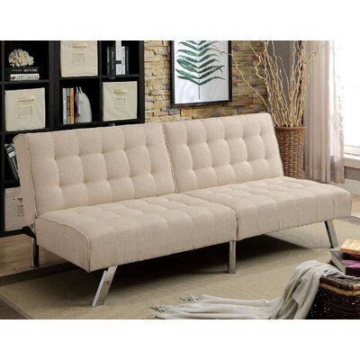 Arielle Convertible Sofa Upholstery: Beige