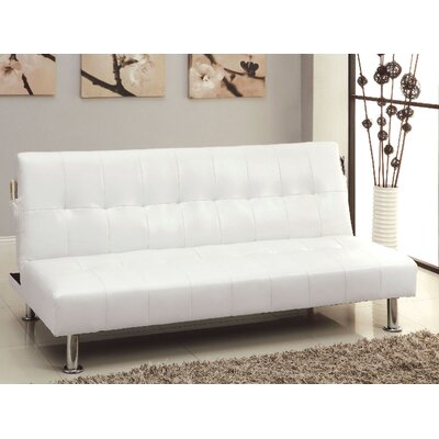 Bulle Convertible Sofa Upholstery: White