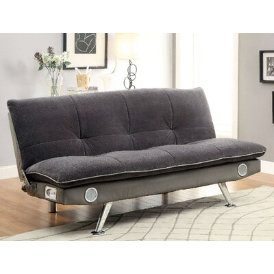 Gallagher Convertible Sofa Upholstery: Gray
