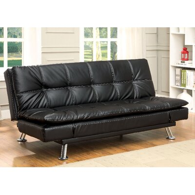 A&J Homes Studio ZD-2WF6A7J7SBK Hauser Convertible Sofa