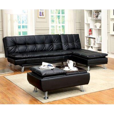 Hauser 3 Piece Living Room Set