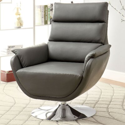 Kulm Lounge Chair Upholstery: Gray