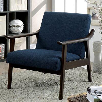 Beidre Armchair Upholstery: Navy