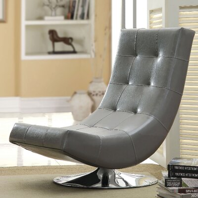Trinidad Lounge Chair Upholstery: Gray