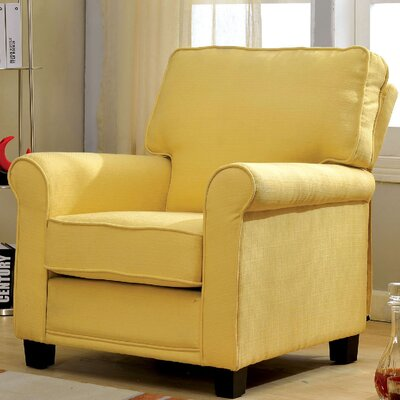Belem Armchair Upholstery: Yellow