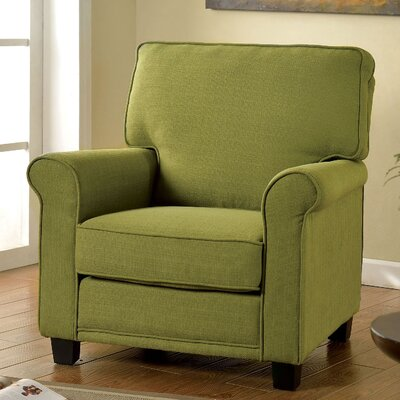 Belem Arm Chair Upholstery: Green