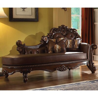Vendome Chaise Lounge Finish: Cherry