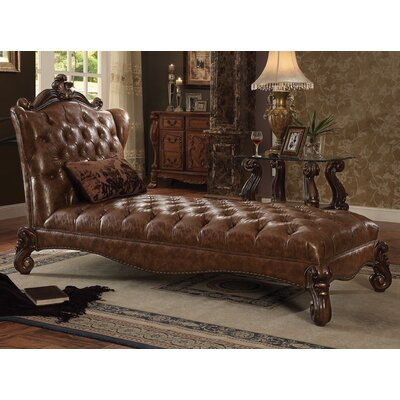Versailles Chaise Lounge Finish: Cherry