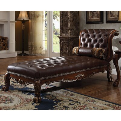 Dresden Chaise Lounge Finish: Cherry
