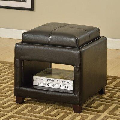 Gosse Leather Ottoman