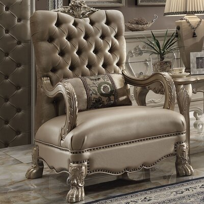 Westmont Armchair Finish: Gold