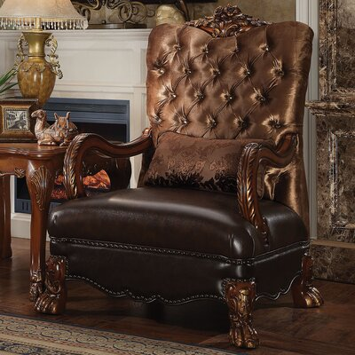Westmont Armchair Finish: Cherry Oak