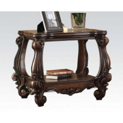 Versailles Wood End Table Finish: Cherry Oak