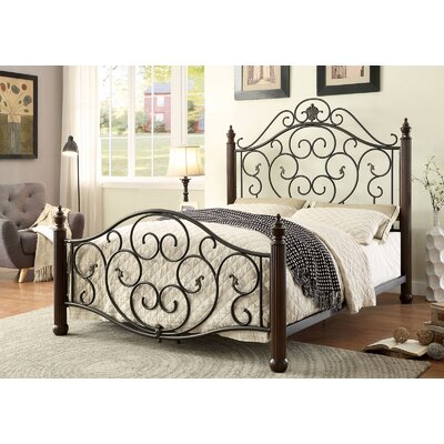 Lucia Metal Bed Size: Queen