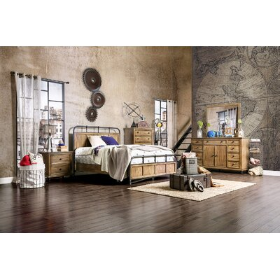 Mcville Metal Customizable Bedroom Set