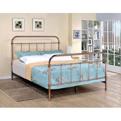 Tamia Metal Bed Size: Queen