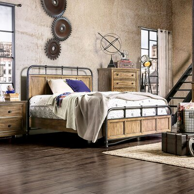 Mcville Panel Bed Size: California King