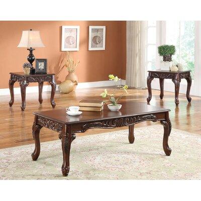 Fairfax 3 Piece Coffee Table Set