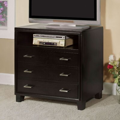 Enrico 3 Drawer Media Chest