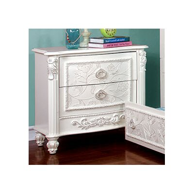 Henrietta 2 Drawer Night Stand