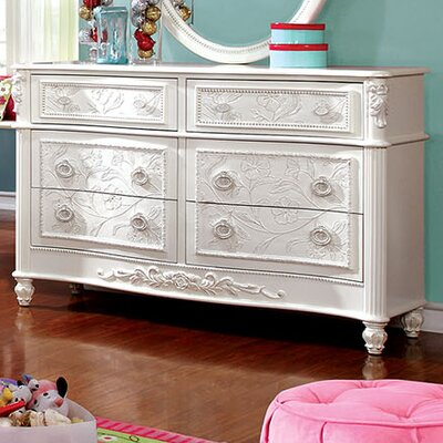 Henrietta 6 Drawer Dresser