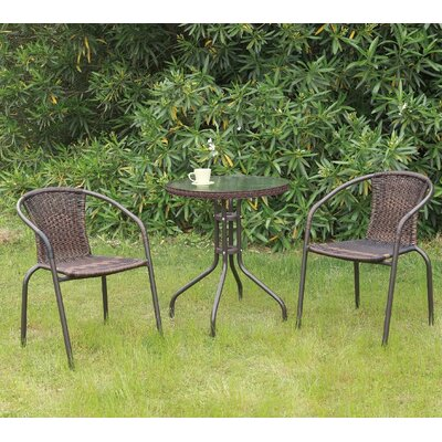 Minnetonka Outdoor 3 Piece Bistro Set