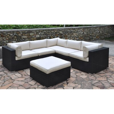 Dakota 6 Piece Deep Seating Group II with Cushion