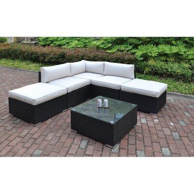 Dakota 6 Piece Deep Seating Group III with Cushion