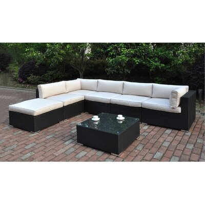 Dakota 7 Piece Deep Seating Group II with Cushion