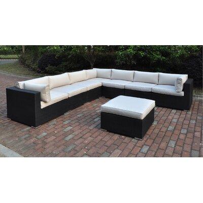 Dakota 8 Piece Deep Seating Group II with Cushion
