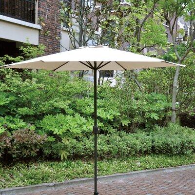 Faiths 9 Market Umbrella Color: Beige