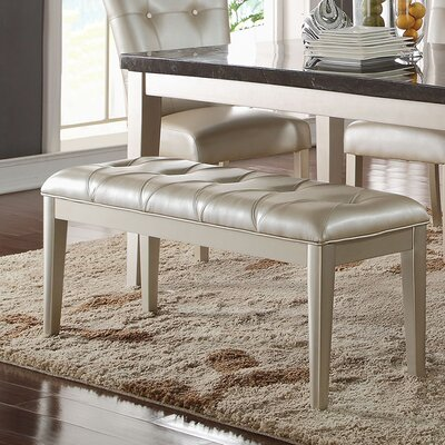 Iris Upholstered Dining Bench