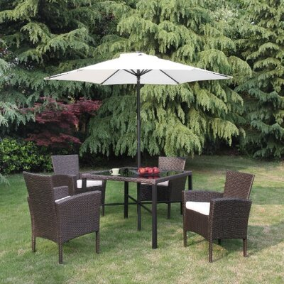 Kintyre 6 Piece Deep Seating Group with Cushion