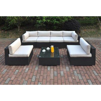 Dakota 7 Piece Deep Seating Group I with Cushion